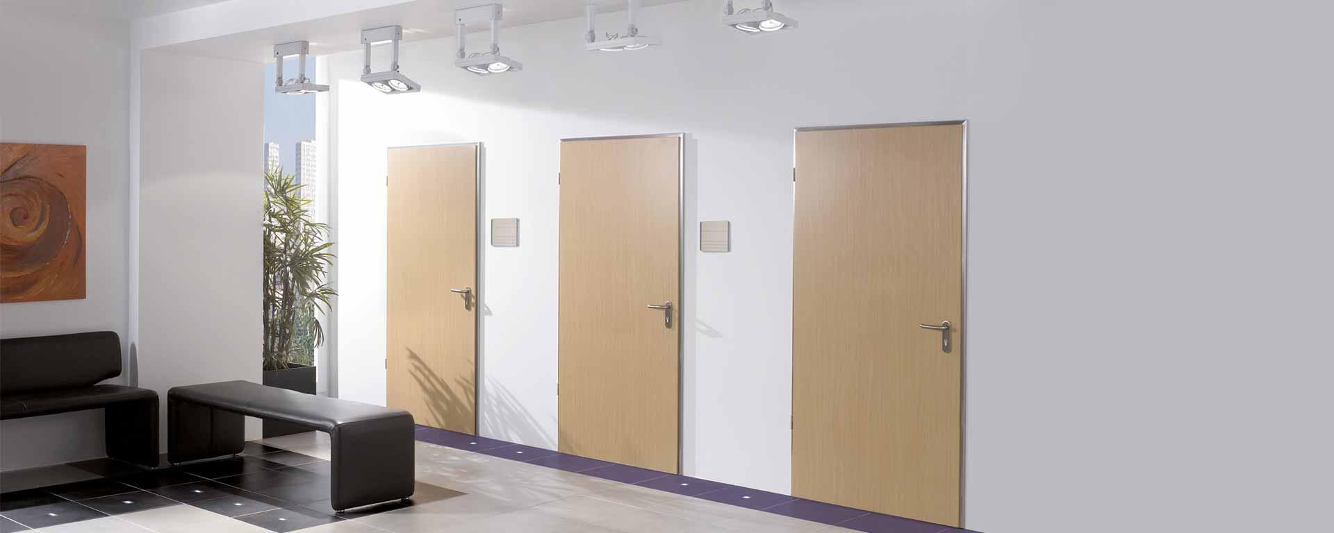 Türen für den Objektbau