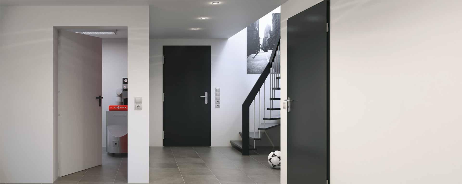 Türen für den Wohnungsbau