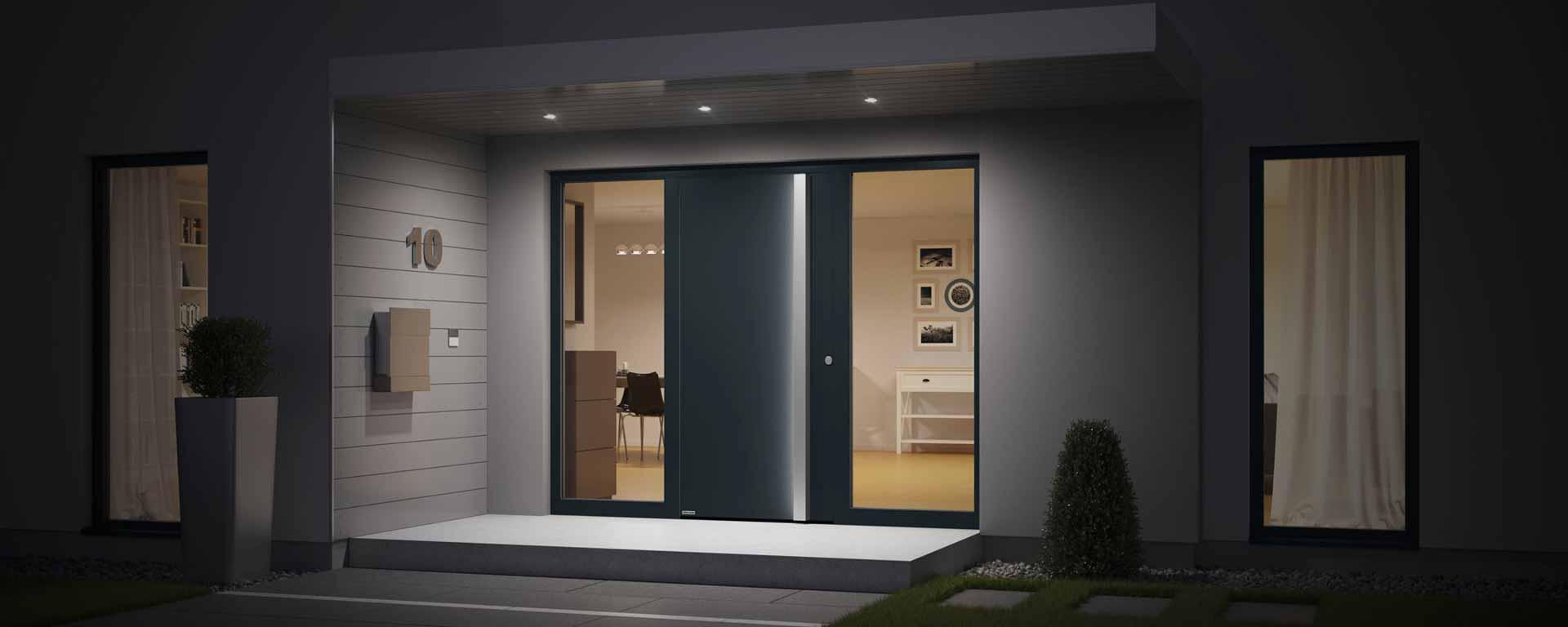 Image of: Front Doors External Doors Hormann Uk