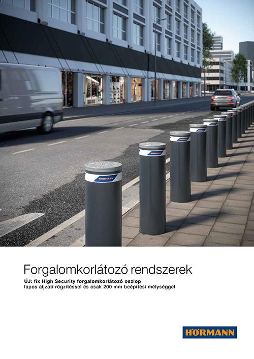 Forgalomkorlátozó rendszerek- fix